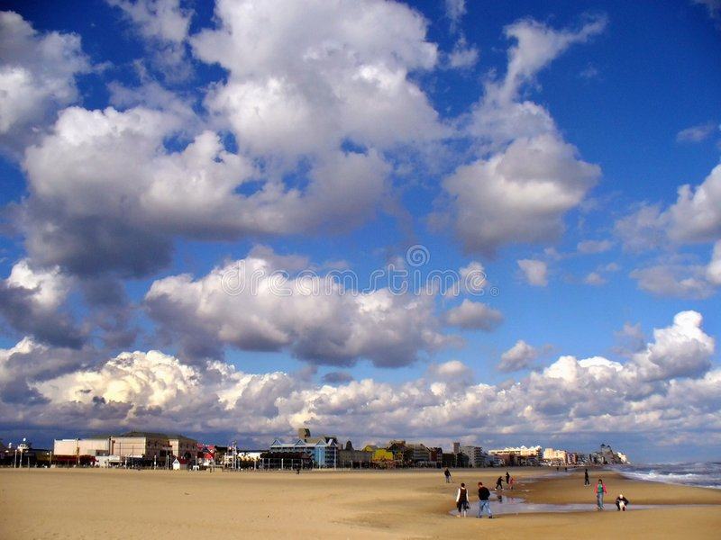 Ozean-Stadt Maryland stockbild