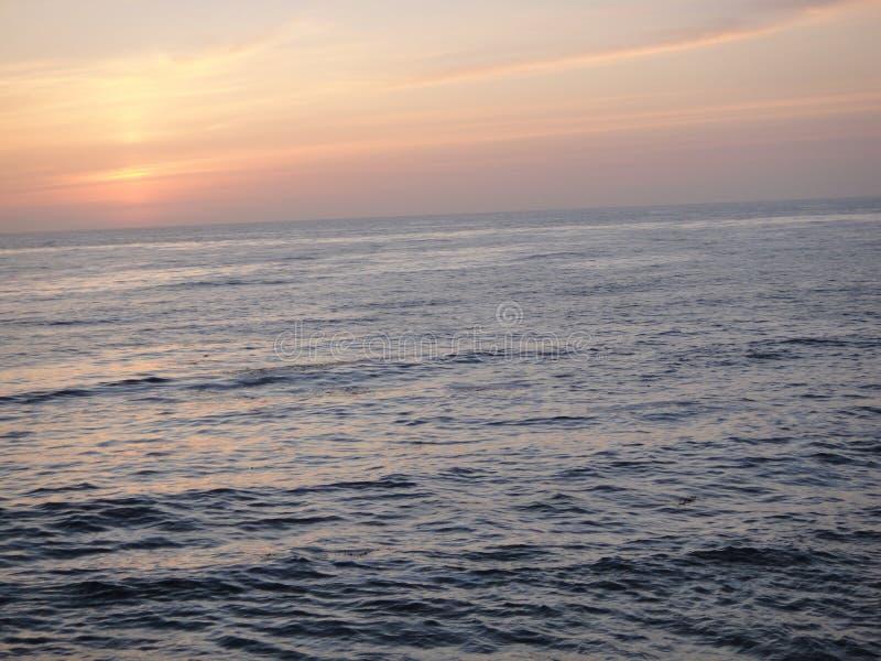 Ozean Sunset lizenzfreies stockbild