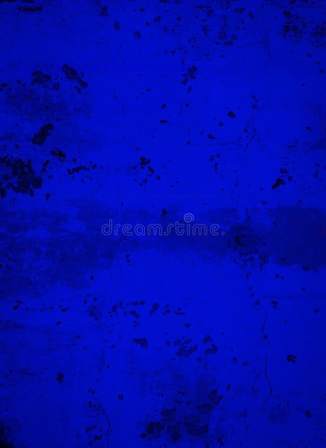 Ozean-tiefer Königsblau-Beton-Hintergrund lizenzfreie stockfotografie
