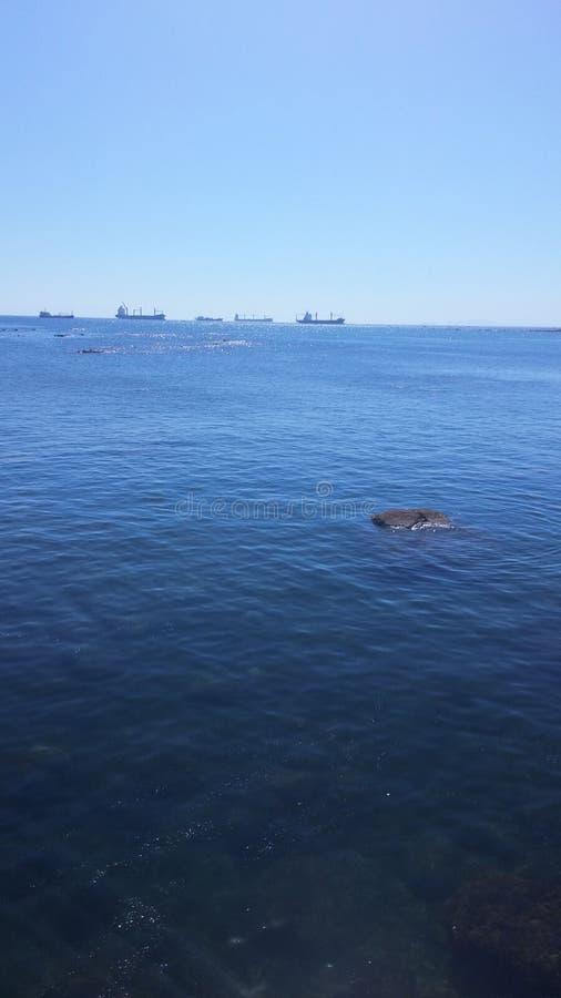Ozean und sehen lizenzfreies stockfoto