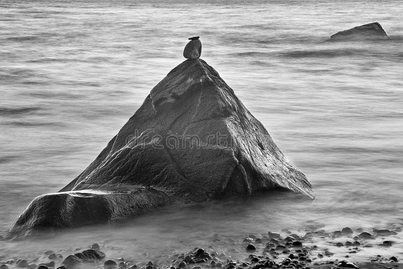Ozean-Zen lizenzfreie stockfotos