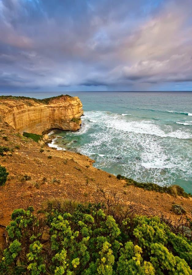 Ozeanküste stockbild