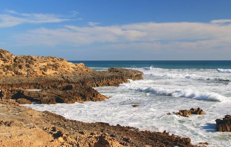 Ozeanlandschaft, Mornington-Halbinsel stockfotografie