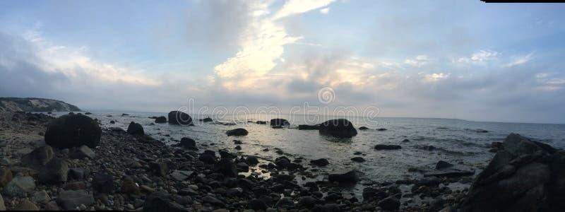 Ozeanskyline stockfoto
