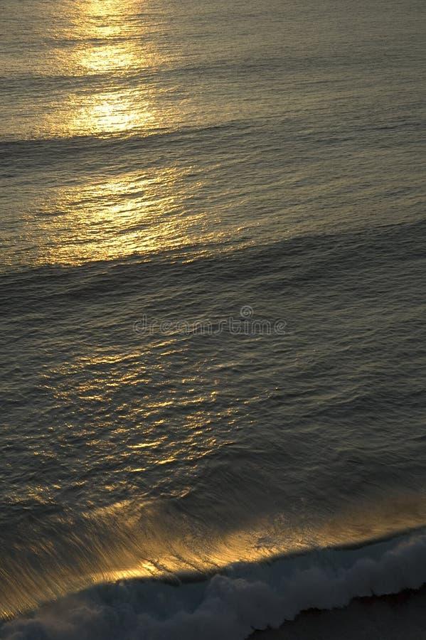 Ozeansonnenuntergang stockbilder