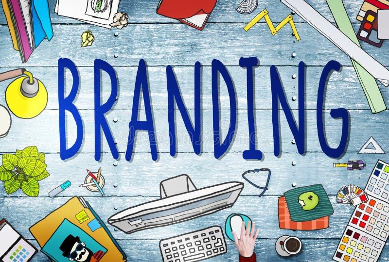 Oznakować gatunku marketingu strategii biznesowej tożsamości pojęcie ilustracja wektor