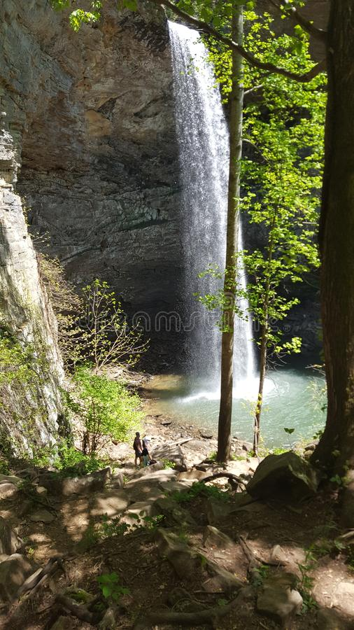 Ozone Falls. Tennesee, water, nature royalty free stock photos