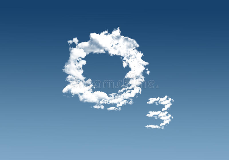 Ozono fotografie stock