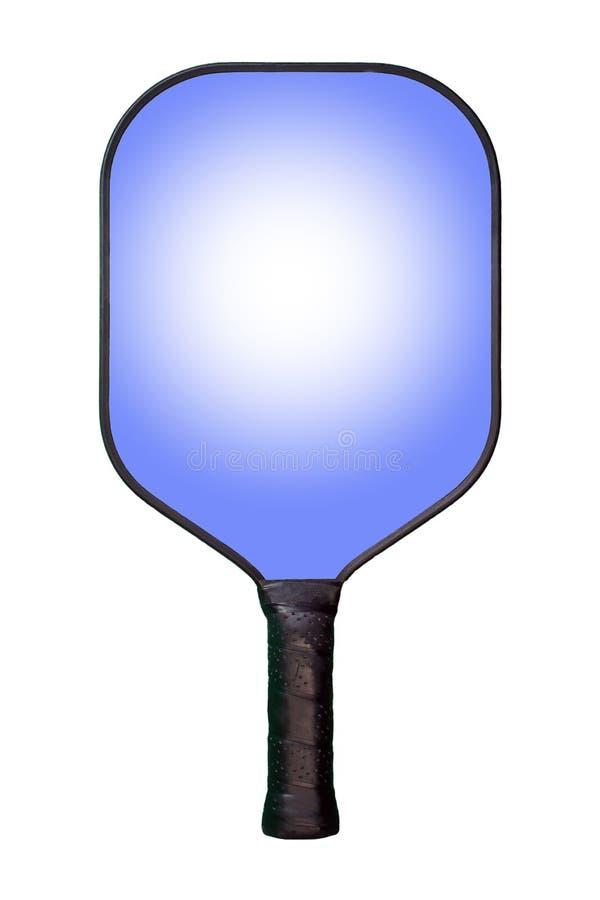 Pá azul de Pickleball ilustração stock