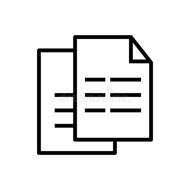 Página con una muestra de la esquina encrespada del vector del icono y símbolo aislados en el fondo blanco, página con un concept stock de ilustración