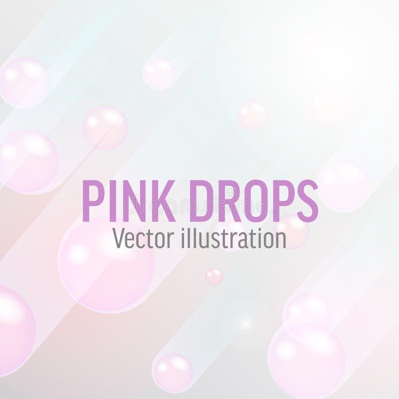 Página de aterrizaje con el plano del ejemplo de la promoción ilustración del vector