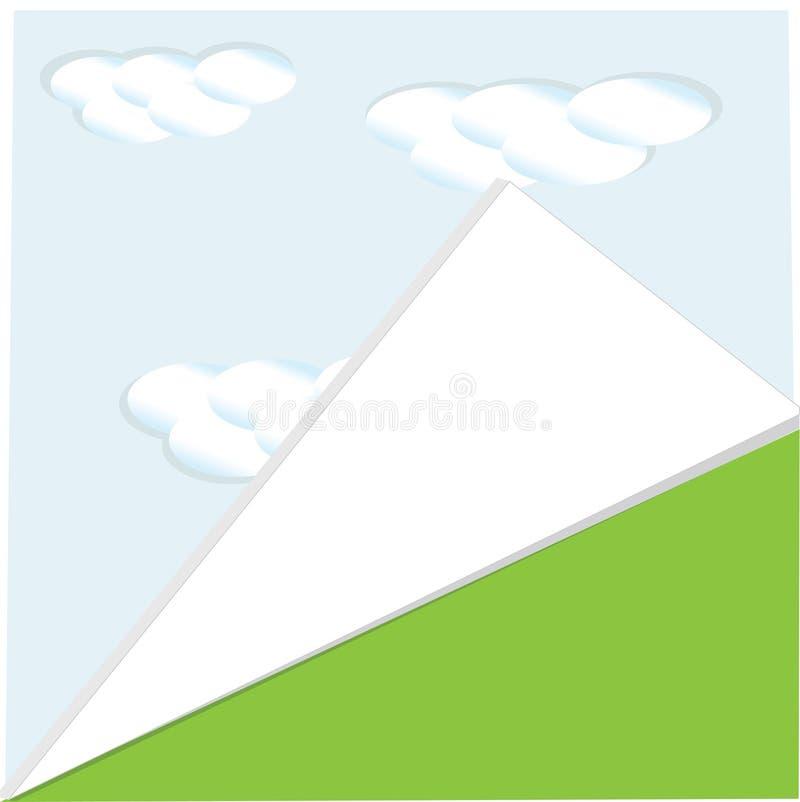 Download Página Del Fondo Del Verano Stock de ilustración - Ilustración de color, cielo: 42426236