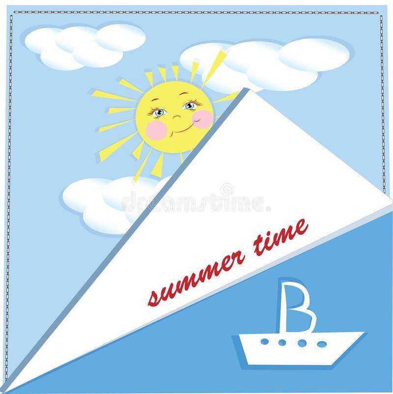 Download Página Del Fondo Del Verano Stock de ilustración - Ilustración de nave, fondos: 42426325