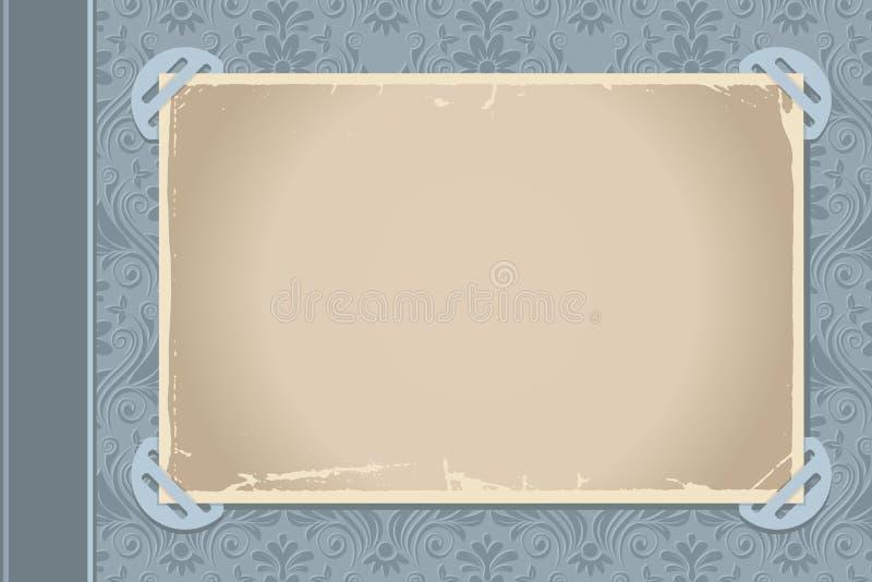 Página do álbum de foto ilustração royalty free