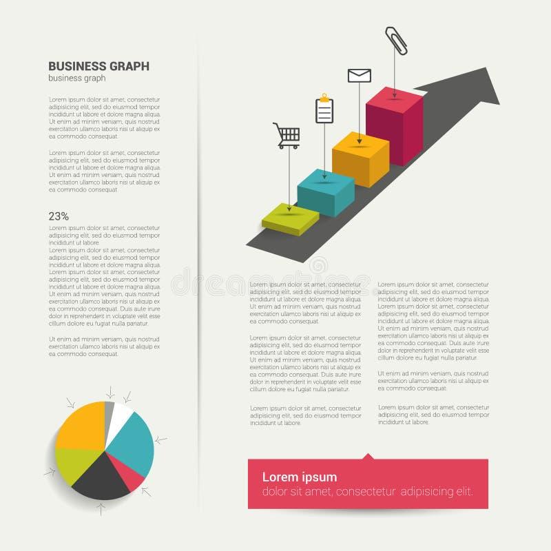 Download Página plana moderna ilustración del vector. Ilustración de info - 42443465