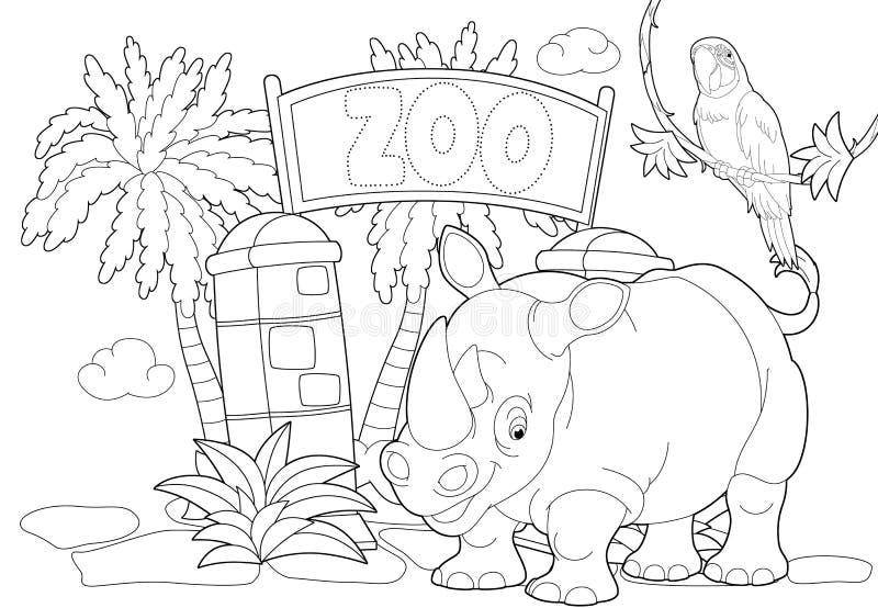 Único Dr Seuss Me Puso En El Zoológico Para Colorear Composición ...