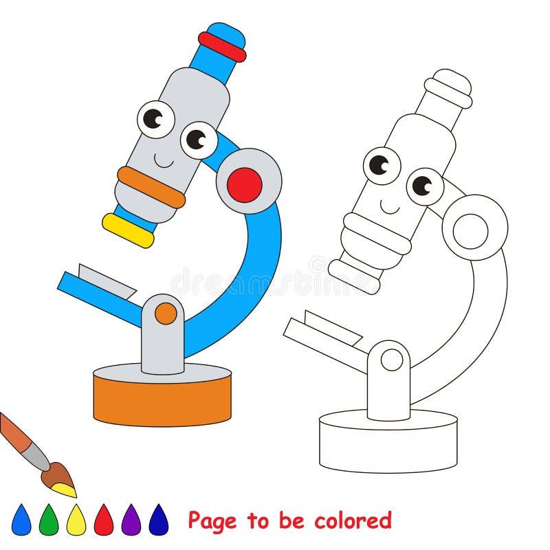 Página a ser colorida ilustração royalty free