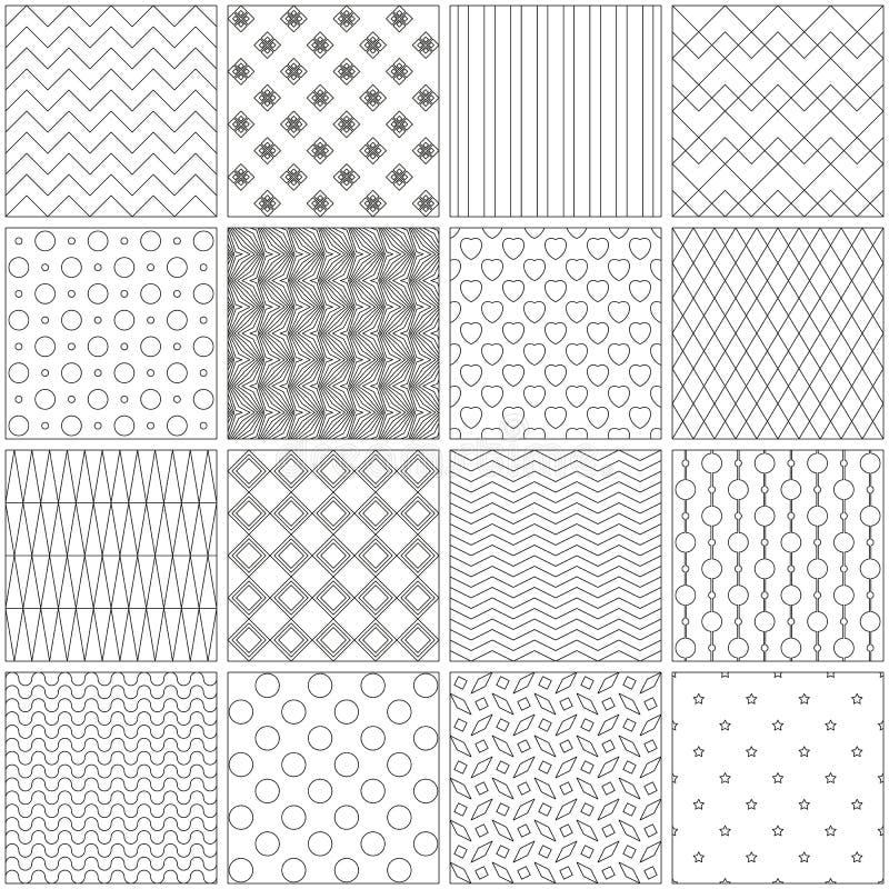 Páginas Del Diseño Para Los Libros De Colorear Ilustración Del ...