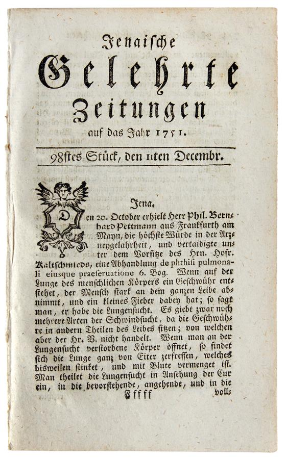 Páginas del periódico antiguo alemán imagenes de archivo