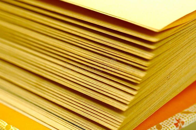 Páginas do livro imagem de stock