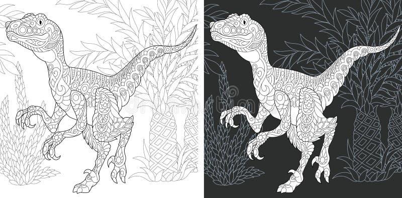 Páginas que colorean con el rapaz libre illustration