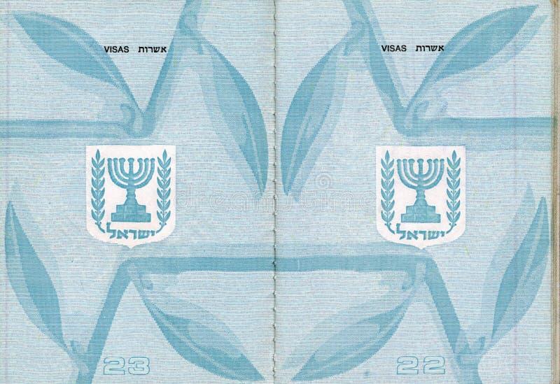 Download Passaporte israelita vazio imagem de stock. Imagem de tourism - 29825957