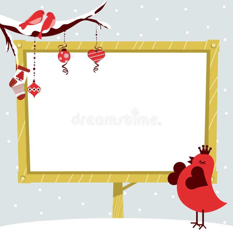 Pájaro stock de ilustración