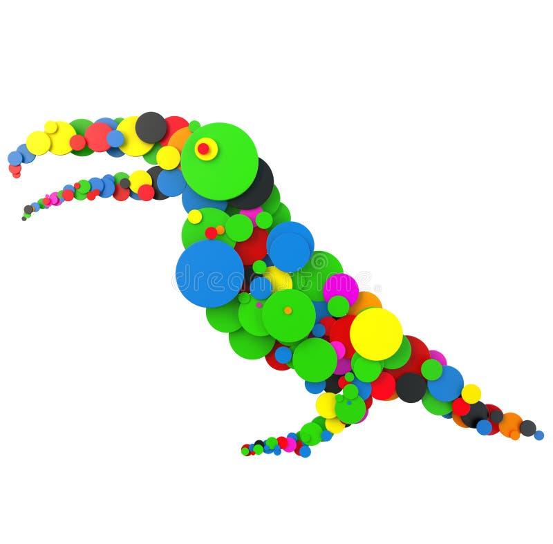 Pájaro abstracto libre illustration