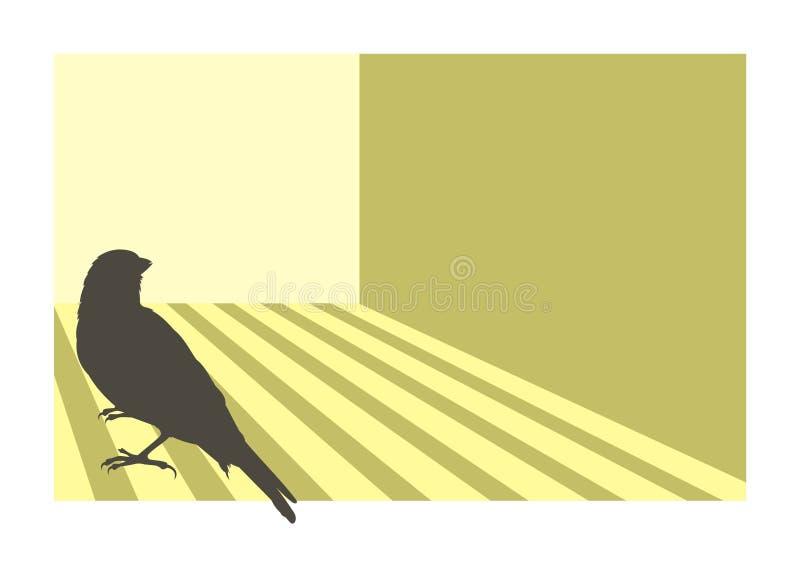 Pájaro amarillo 3 libre illustration