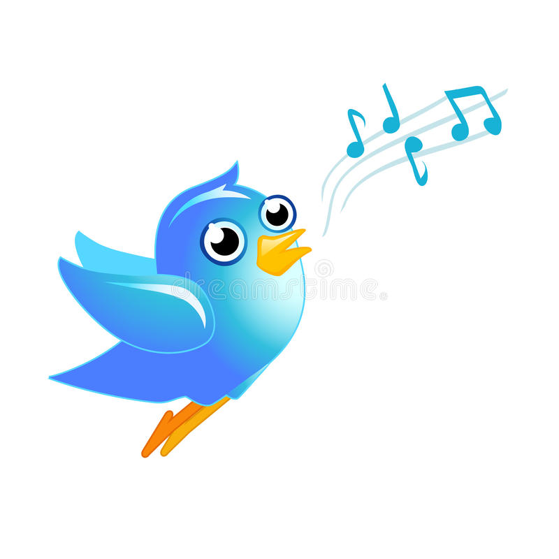 Pájaro azul libre illustration