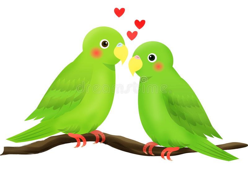 Pájaro del amor libre illustration