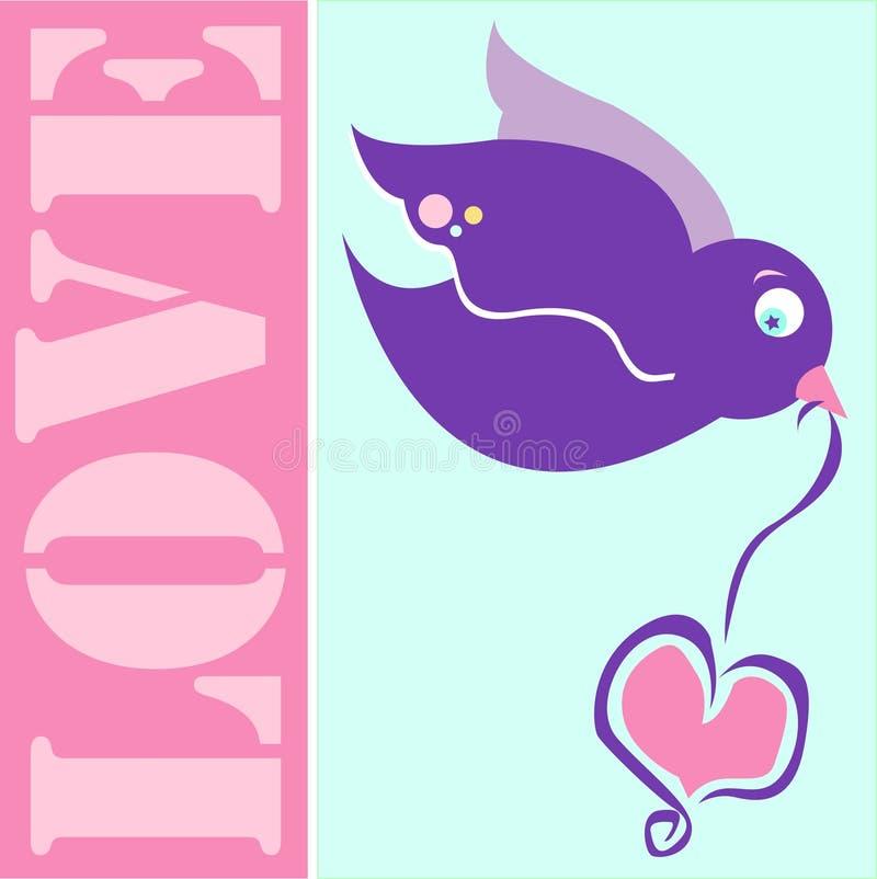 Pájaro del amor imágenes de archivo libres de regalías