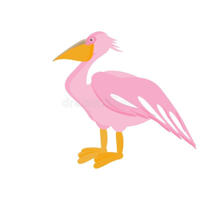 Pájaro del pelícano Ilustración del vector libre illustration