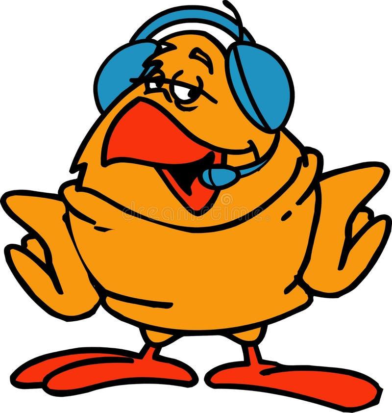 Download Pájaro divertido ilustración del vector. Ilustración de gráfico - 7279308