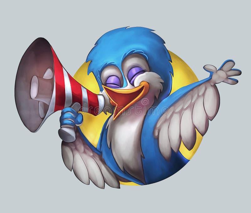 Pájaro llamada foto de archivo