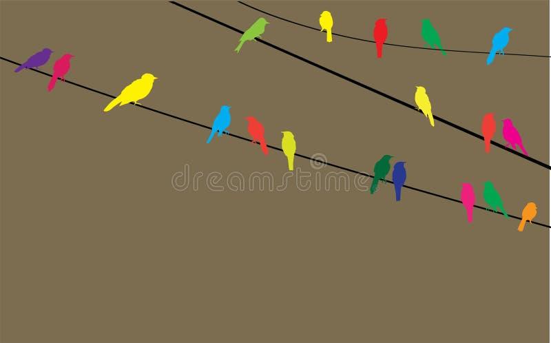 Pájaros libre illustration