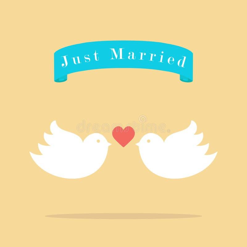 Pájaros de la boda del amor libre illustration