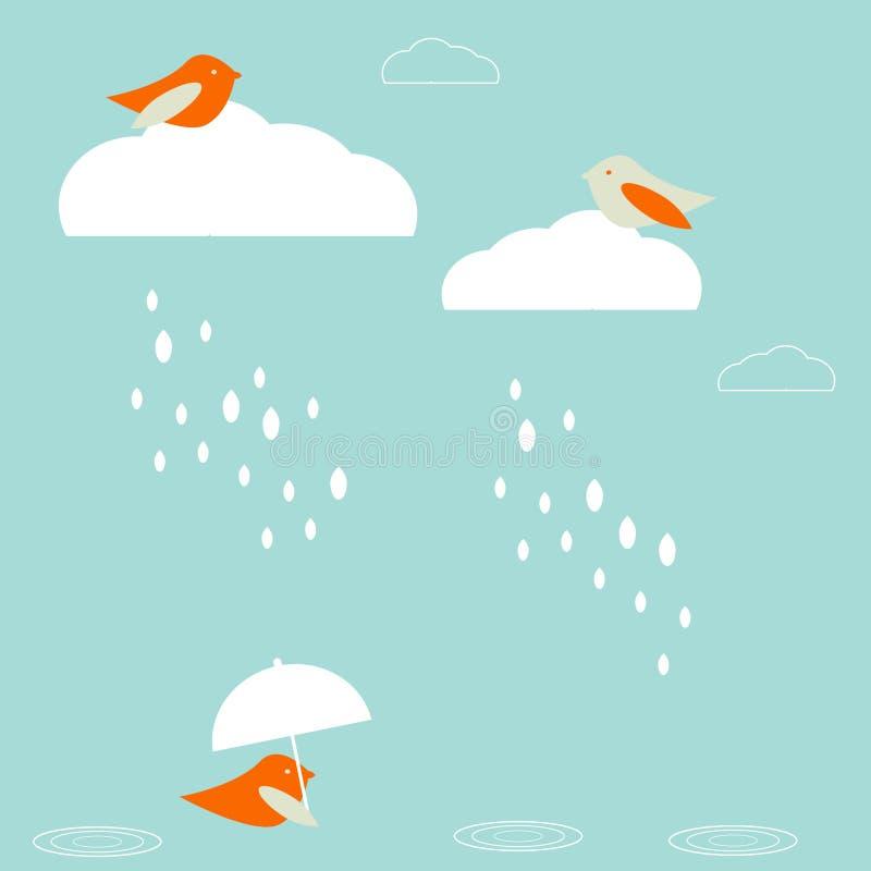 Pájaros de la lluvia