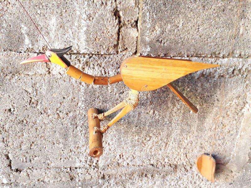 Pájaros del bambú imágenes de archivo libres de regalías