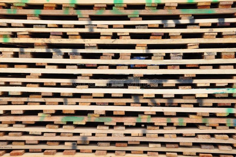 Pálete de madeira fotos de stock