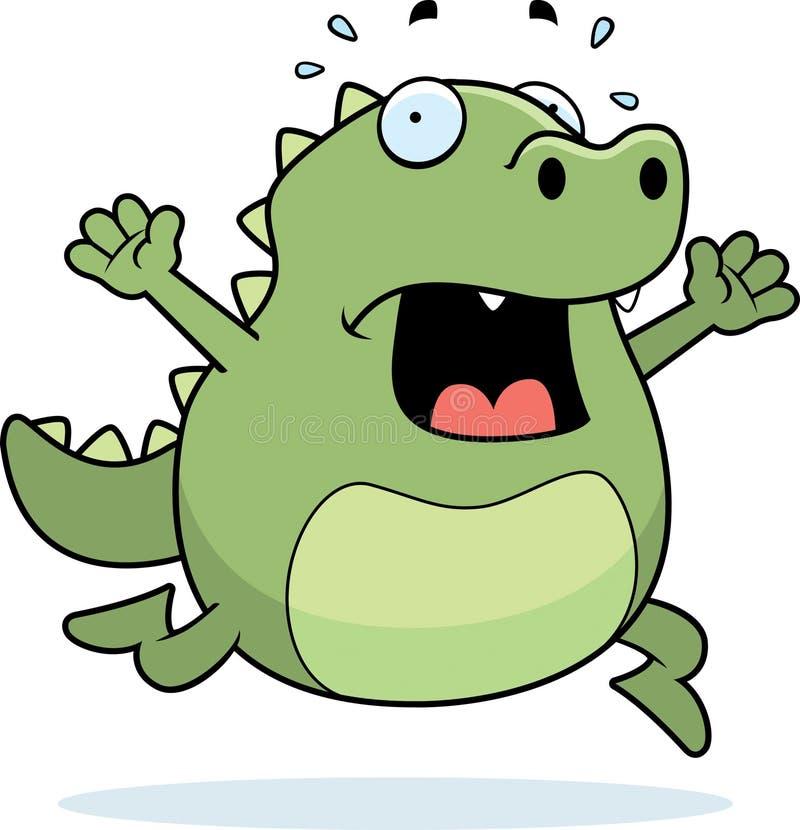 Pánico del lagarto libre illustration