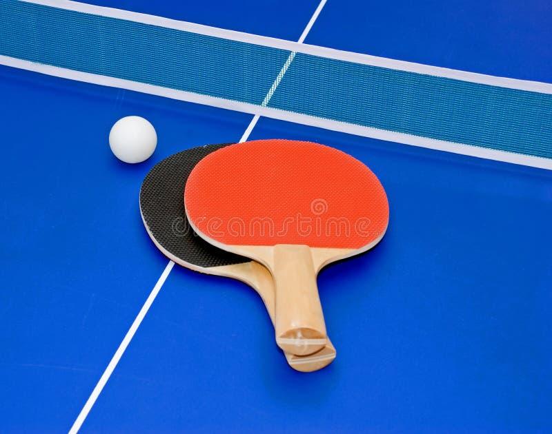Pás do pong do sibilo imagem de stock