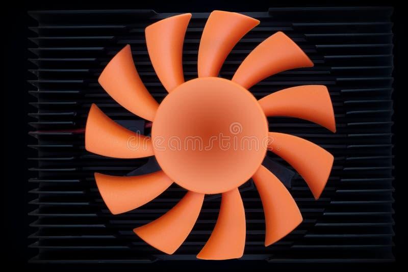 Pás do ventilador fotografia de stock