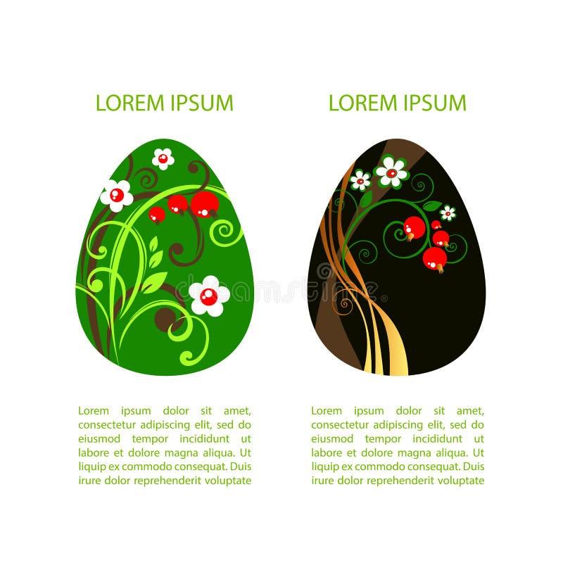 Páscoa eggs-18 ilustração royalty free