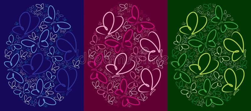 Páscoa feliz! ilustração royalty free