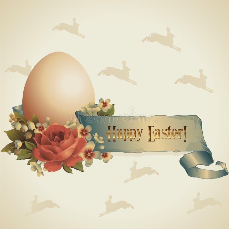 Páscoa feliz! ilustração stock