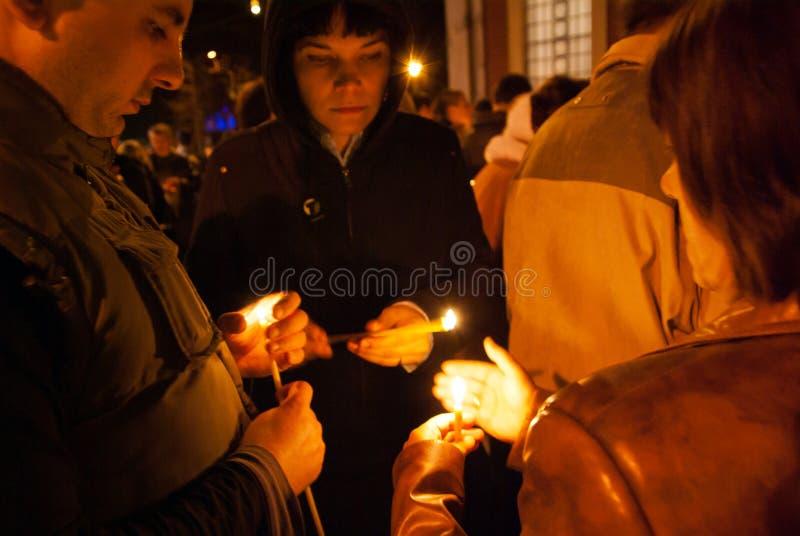 Páscoa Igreja ortodoxa oriental foto de stock royalty free