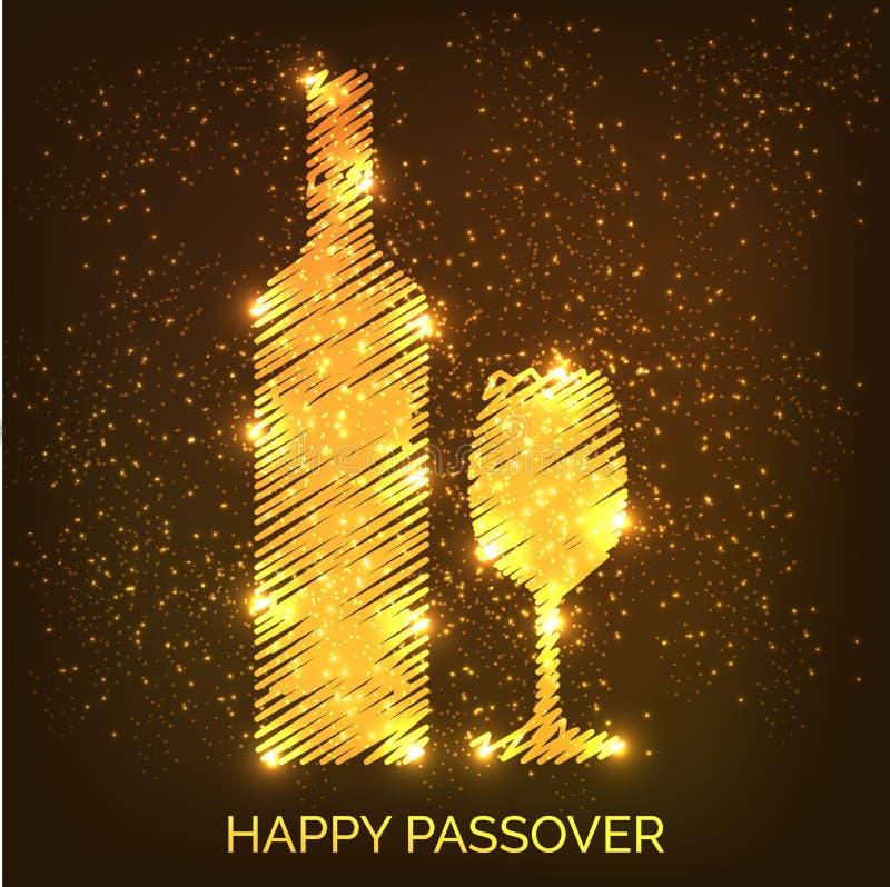 Páscoa judaica feliz ilustração stock