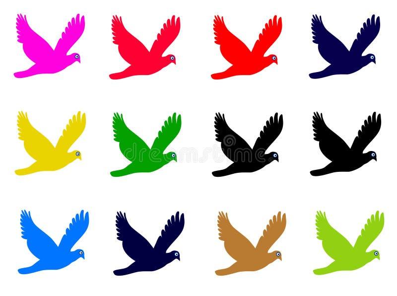 Download Pássaro ilustração stock. Ilustração de pássaro, águia - 536596