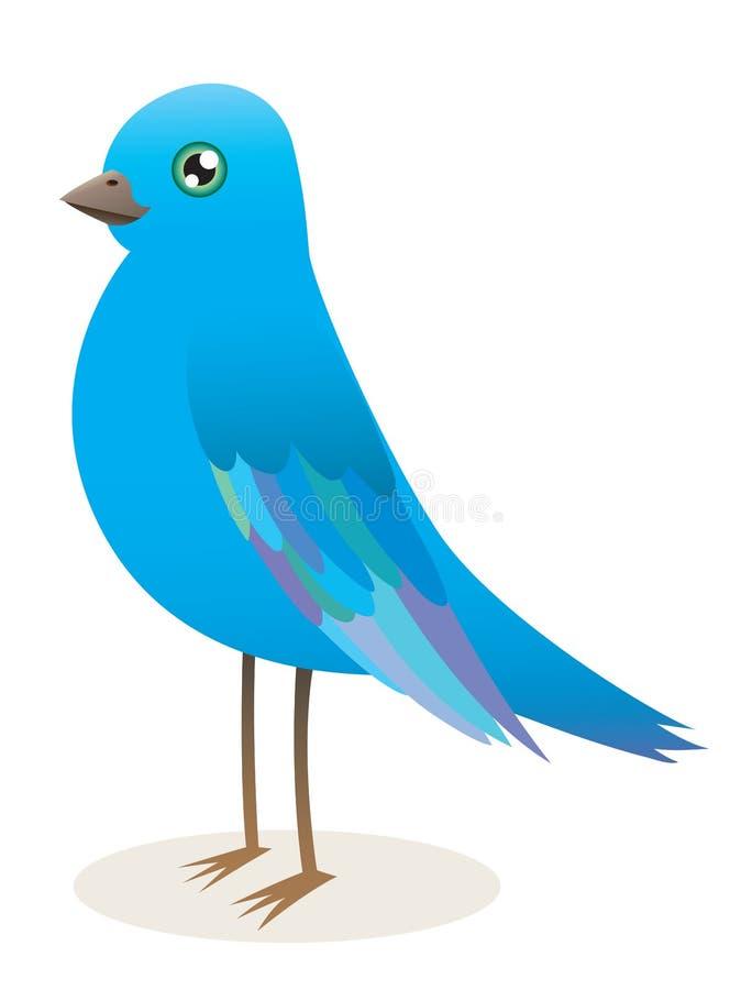 Pássaro azul imagem de stock royalty free